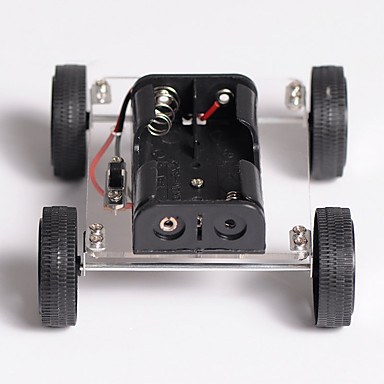 Diy Toys Technology Small Production Puzzle Assembled Mini Two Drive
