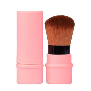 1 Cepillo para Base Cepillo para Polvos Cepillo Corrector Cepillo para Colorete Pelo Sintético Profesional Plástico Rostro bronceador