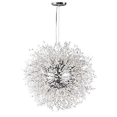 Sputnik Lustres Luz Ambiente - Cristal, 110-120V / 220-240V, Branco Quente / Branco, Lâmpada Incluída / G9 / 15-20㎡
