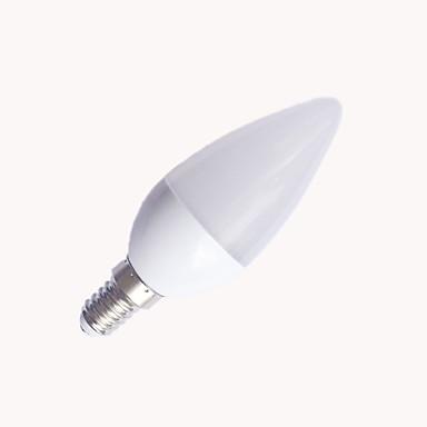 EXUP® 1pc 6W 560lm E14 LED-lysestakepærer C37 10 LED perler SMD 2835 Varm hvit Kjølig hvit 110-130V 220-240V