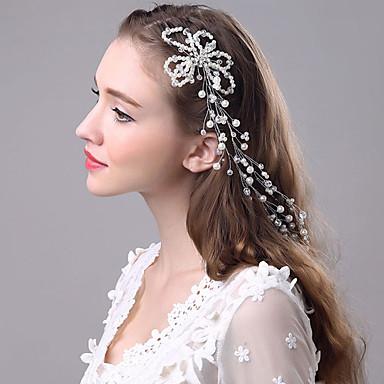 Biseri Trake za kosu Ukosnica 1 Vjenčanje Special Occasion Glava