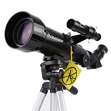 CELESTRON 70/400 70mmTávcsövek refraktorHordozó tok Tető Prism Nagyfelbontású Széles látószög Eagle Vision Spektívet Vízálló Fogproof