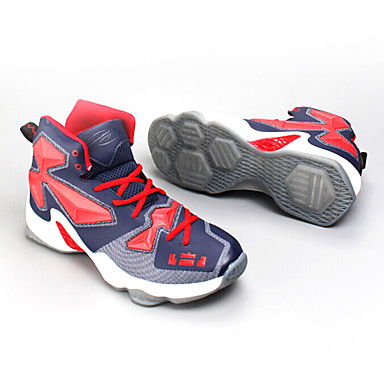 Sneakers Herre Anti-glide Dæmpning Ventilation Åndbart Slidsikkert Øvelse udendørs PU Basketbold