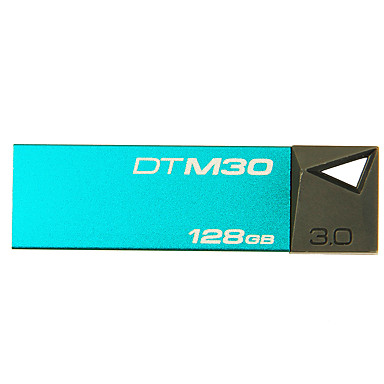 kingston dtm30 128GB usb 3,0 flash-drev digital DataTraveler Mini metal