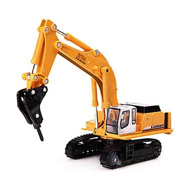 Trituradora Camiones y vehículos de construcción de juguete Coches de juguete 1:87 Retráctil Metalic El plastico ABS 1pcs Chico Niños