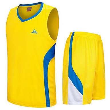 男性用 半袖 バスケットボール ランニング トレーナー トップス バギーショーツ 高通気性 快適 モイスチャーコントロール