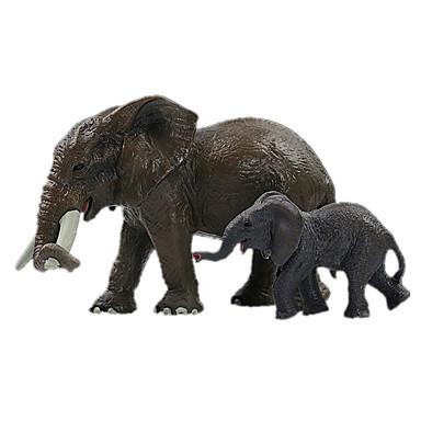 Elefant Mannekengmodeller Dyr simulering Klassisk & Tidløs Chic & Moderne polykarbonat Plast Jente Gave 1pcs
