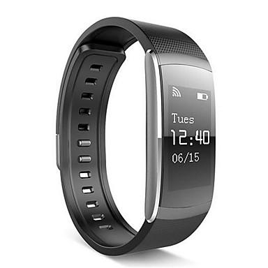 Pulsera inteligente YYi6pro para Android iOS Bluetooth Deportes Monitor de Pulso Cardiaco Pantalla Táctil Calorías Quemadas Standby Largo Seguimiento de Actividad Seguimiento del Sueño Recordatorio