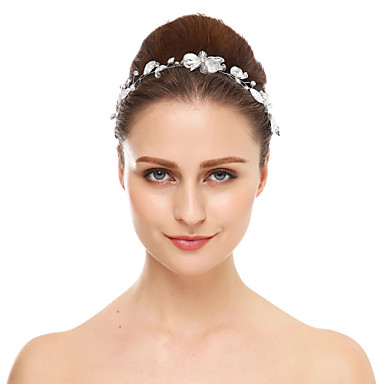 Krystall / Strass pannebånd med 1 Bryllup / Spesiell Leilighet Hodeplagg