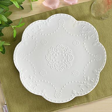 1pc Keramikk Økovennlig Middagstallerker, Servise
