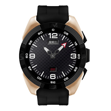 Smartwatch iOS / Android / IPhone Water Resistant / Water Proof / Sports / Heart Rate Monitor Gravity Sensor / Proximity Sensor / Heart Rate Sensor Plastics / Alloy Gold / Black / Silver / Pedometers