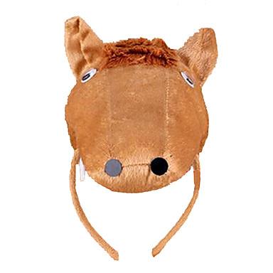 CHENTAO Material para Cabeça Fita de Cabelo Cavalo Felpudo Unisexo Crianças Adulto Dom 1pcs