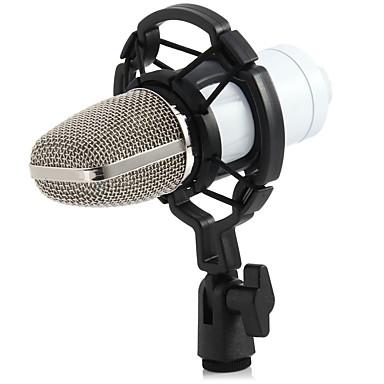 abordables Microphones-3.5mm Microphone A Fil Microphone à Condensateur Microphone Col-de-Cygne Pour Microphone d'Ordinateur