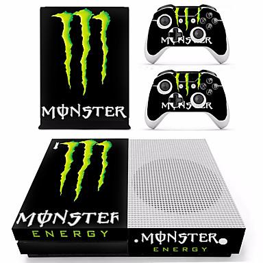 B-SKIN XBOX ONE  S PS / 2 Klistremerke Til Xbox One S ,  Originale Klistremerke PVC 1 pcs enhet