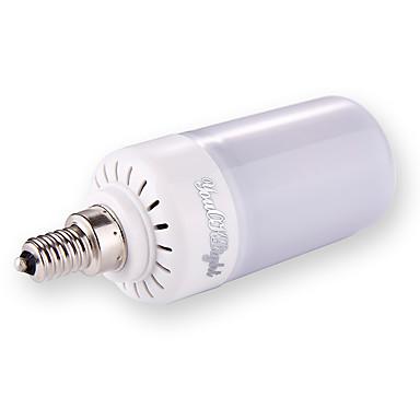 1pc 5W 500lm E27 E26 E12 LED-globepærer T 160 LED perler SMD 2835 Mulighet for demping Varm hvit Kjølig hvit Naturlig hvit 110V