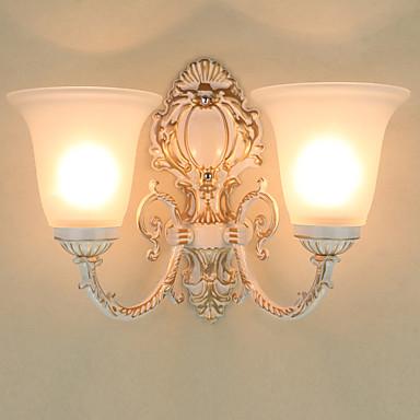 Rustikk / Hytte / Traditionel / Klassisk / Moderne / Nutidig Vegglamper Metall Vegglampe 220V / 110V 2*60W