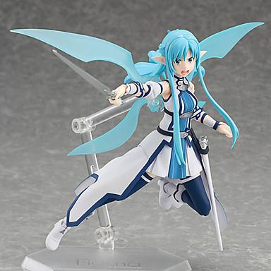 Anime Action Figurer Inspirert av Sword Art Online Cosplay PVC 15 cm CM Modell Leker Dukke