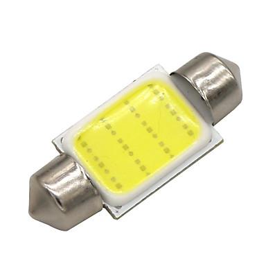 SO.K 10pçs T11 Carro Lâmpadas 3 W COB 120 lm LED Iluminação interior
