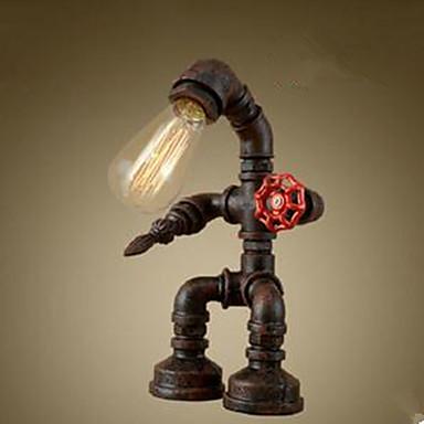 Rustikk/ Hytte Original LED Skrivebordslampe Til Metall 220-240V