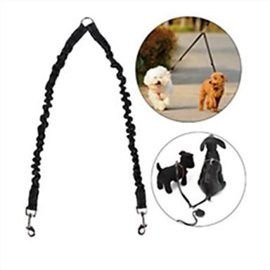 كلب المقاود يد المقود مجانا قابل للسحبقابل للتعديل عاكس الأمان ركض سادة مطاط نايلون أسود أحمر أزرق