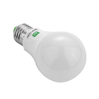 YWXLIGHT® 5W 400-500lm E26 / E27 LED-globepærer 10 LED perler SMD 5730 Dekorativ Varm hvit Kjølig hvit 12V 12-24V