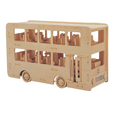 voordelige 3D-puzzels-Bouwblokken / 3D-puzzels / Legpuzzel Bus / Dubbeldekker professioneel niveau / DHZ Puinen 1 pcs Kinderen Geschenk