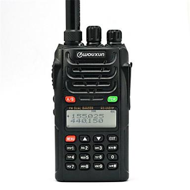 wouxun kg-uvd1p walkie talkie vhf / uhf banda dupla rádio de rádio de rádio de duas vias