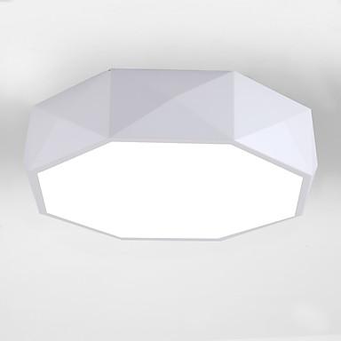 Takplafond Nedlys Malte Finishes Metall Akryl LED 110-120V / 220-240V Varm Hvit / Hvit LED lyskilde inkludert / Integrert LED