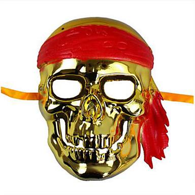 voordelige Maskers voor de feestdagen-Schedelmasker Speeltjes Schedel Unisex 1 Stuks