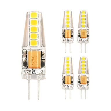 5pçs 2W 450lm Luminárias de LED  Duplo-Pin T 10 Contas LED SMD 2835 Branco Quente Branco Frio 85-265V
