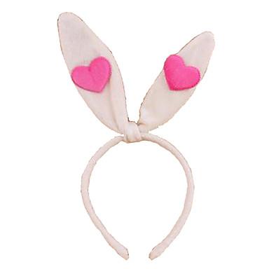 voordelige Maskers voor de feestdagen-CHENTAO Hoofddeksel Rabbit Feest Pluche Unisex Speeltjes Geschenk 1 pcs