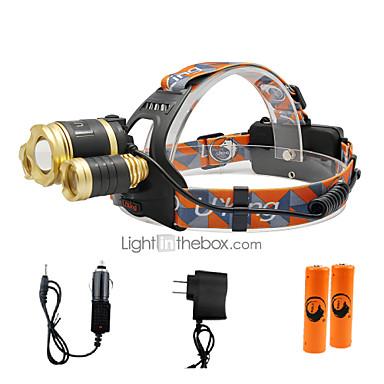 3000 lm مصابيح أمامية LED 3 / 4.0 طريقة - U'King زوومابلي / Adjustable Focus / حجم مصغر