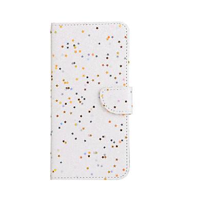 Capinha Para Apple iPhone 7 / iPhone 7 Plus Carteira / Porta-Cartão / Com Suporte Capa Proteção Completa Glitter Brilhante Rígida PU Leather para iPhone 7 Plus / iPhone 7 / iPhone 6s Plus