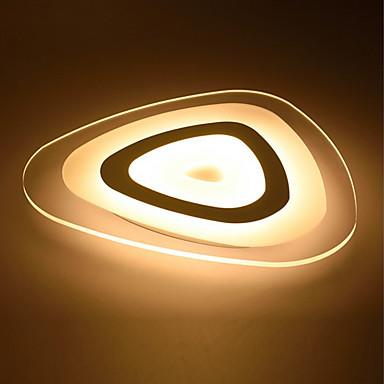 KAKAXI Montagem do Fluxo Luz Ambiente - Regulável, LED, Dimmable Com Controle Remoto, 220-240V Fonte de luz LED incluída / 15-20㎡