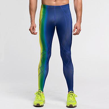 Vansydical® Homme Collants de Course / Leggings de Sport Des sports Pantalon / Surpantalon Exercice & Fitness, Course / Running Tenues de