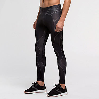 Vansydical® Homme Course / Running Pantalon/Surpantalon Collants Leggings BasSéchage rapide Respirable Compression Matériaux Légers
