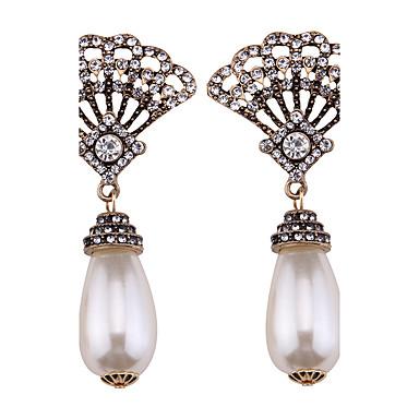 Women's Drop Earrings - Pearl Personalized, Bikini, Fashion White For Wedding / Party / Graduation