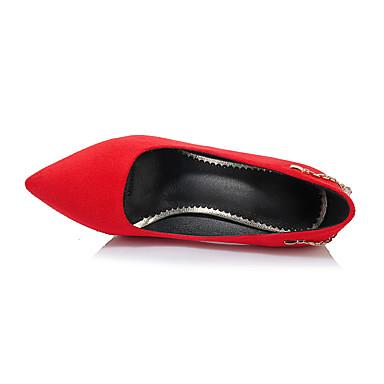 Chaussures Bout Talon Eté Noir Basique Strass Rouge Escarpin Vert Flocage Talons Aiguille à 06580072 Femme Printemps pointu Chaussures xqwgz4YfP