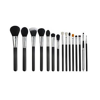 Pinceles de maquillaje Profesional Sistemas de cepillo Pincel de Nylon Profesional / Cobertura completa Madera