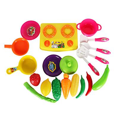 Sets jouet cuisine jeu de r le l gumes fruit simulation plastique abs enfant unisexe jouet - Cuisine plastique jouet ...