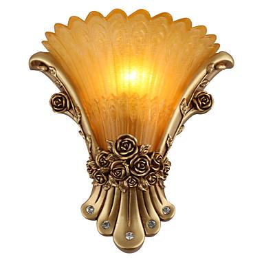 ريفي / بلدي / الحديثة / المعاصرة / التقليدية / الكلاسيكية مصابيح الحائط الراتنج إضاءة الحائط 110-120V / 220-240V 40 W / E14 / E12