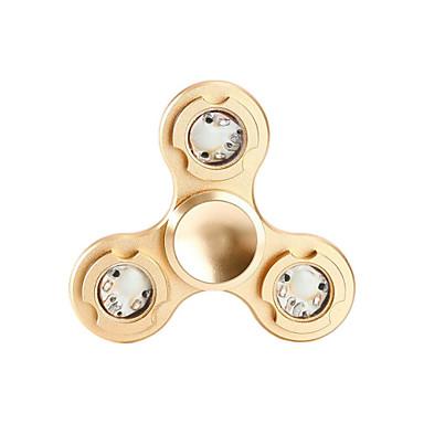 Spinners de mão / Mão Spinner Alta Velocidade / Por matar o tempo / O stress e ansiedade alívio LED Spinner Metalic Clássico Peças Para