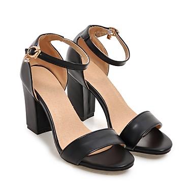 Tacón Cuadrado Beige redondo Verano Negro Sandalias Dedo Otoño Zapatos Hebilla del club Rosa PU de 05684148 Mujer Sandalias Zapatos Tacón qAUPzP6