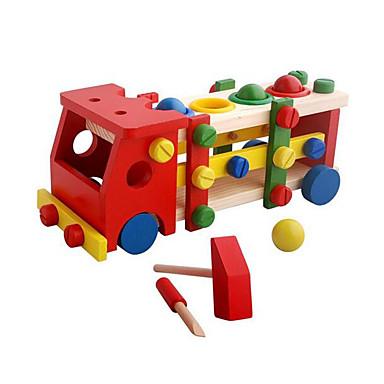 Blocos de Construir Ônibus Clássico Fun & Whimsical Para Meninos Dom