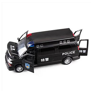 Carros de Brinquedo Veículos de Metal Brinquedos Carrinhos de Fricção Veículo Militar Carro de Polícia Brinquedos Simulação Quadrada Liga