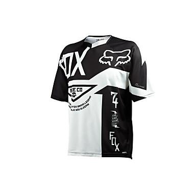 ubrania motocyklowe fox krótki rękaw ochrony przeciwsłonecznej oddychająca wilgoć potu szybkiego suszenia ubrań koszulka lato