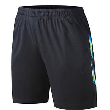 Homens Shorts de Corrida Exercício e Atividade Física Corrida Algodão Branco Preto M L XL XXL XXXL