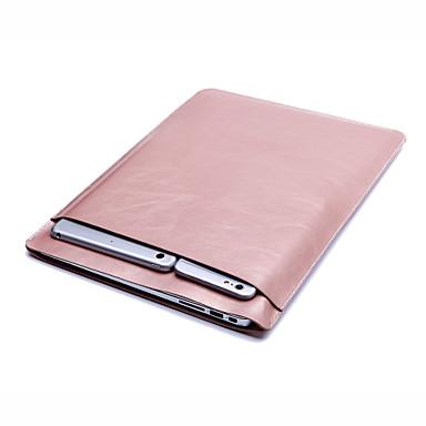 Mangas Sólido PU Leather para Para o Novo MackBook Pro 13