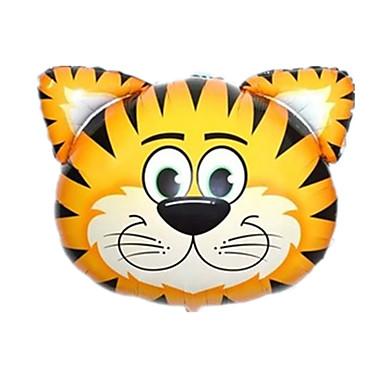 voordelige Ballonnen-Ballonnen Opblaasbare zwembaddrijvers Tiger Dieren Extra groot Aluminium Unisex Speeltjes Geschenk