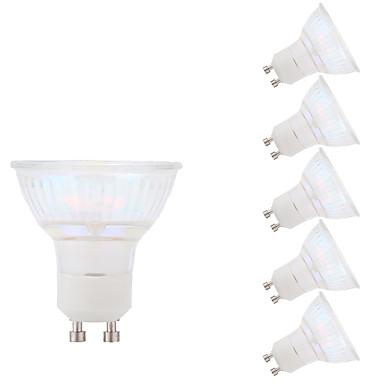 GMY® 6pcs 5.5W 450lm GU10 Lâmpadas de Foco de LED MR16 1 Contas LED COB Branco Frio 100-240V
